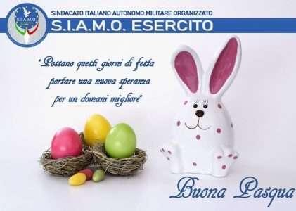 Dal S.I.A.M.O. Esercito Auguri di Buona Pasqua