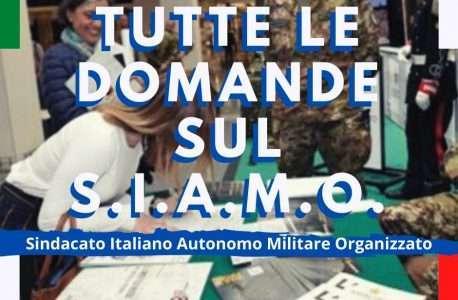 """""""SINDACATO MILITARE"""" – POSSO ADERIRE AL S.I.A.M.O. ESERCITO?"""
