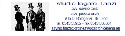 Convenzione studio Legale Tanzi – Forlì